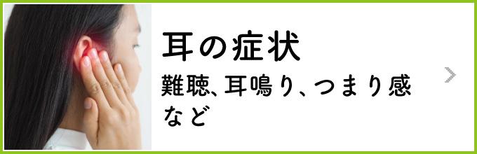 お悩み別〜耳の症状〜